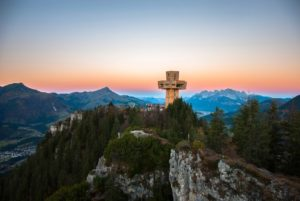 Beautiful travel photos: St. Jacobs Cross, Tyrol, Austria, Europe from the photo database of Charesse TravelPics for travel inspiration and virtual holidays